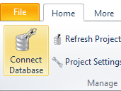 Connect to a database